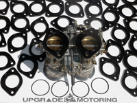 Insulators for Mikuni PHH Carburetors - Available in Black or White - On Sale at UpgradeMotoring.com!